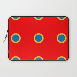 Dotted in Red Laptop Sleeve