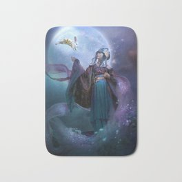 Moon Goddess Chang'e Bath Mat