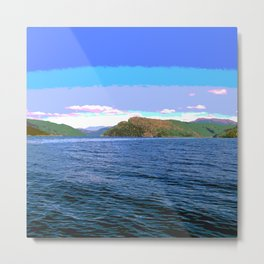 Fiord norway Metal Print