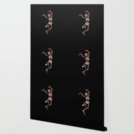 CALAVERA SUGAR SKULL SKELETON DANCING Wallpaper
