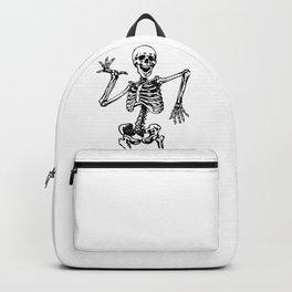 Skeleton Happy Dancing Backpack