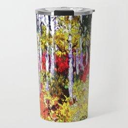 Title: Glorious Colors - digital Silk Screen Travel Mug