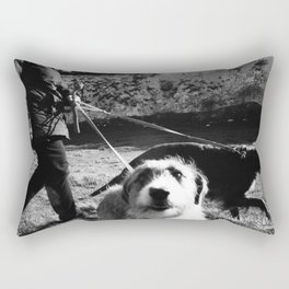 WALKIES  Rectangular Pillow