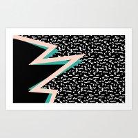 memphis Art Prints featuring memphis by jmdphoto