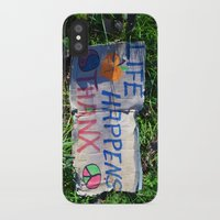 philosophy iPhone & iPod Cases featuring Discarded Philosophy  by Gary Lee Hutchings