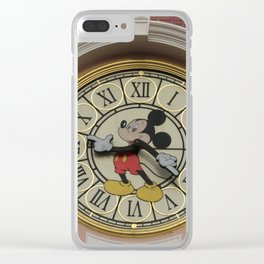 TIME for Disneyland Paris! Clear iPhone Case