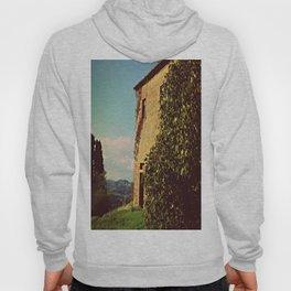 Tuscany Italy Countryside With Villa Hoody