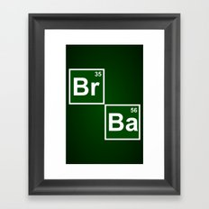 Breaking Bad 2 (Ba 56 Pillow) Framed Art Print