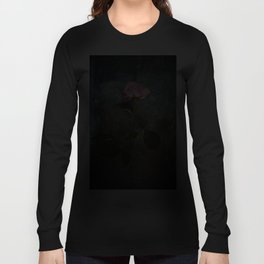 Single Wilted Rose Long Sleeve T-shirt