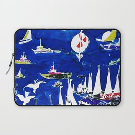 The Marina, Southport, Qld. AUSTRALIA Laptop Sleeve