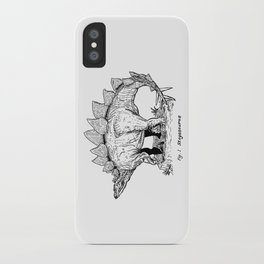 Figure One: Stegosaurus iPhone Case