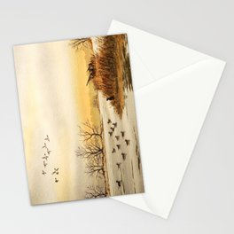 Hunting Pintail Ducks Stationery Cards