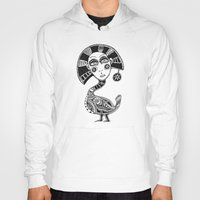 birdy Hoodies featuring Birdy by Rebexi