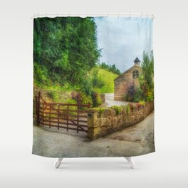 Country Stables Shower Curtain