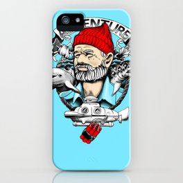 Adventure with Dynamite iPhone Case