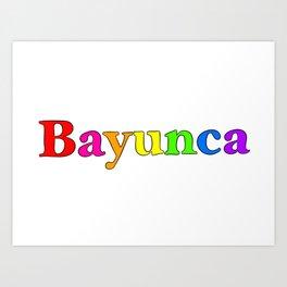 Bayunca Art Print