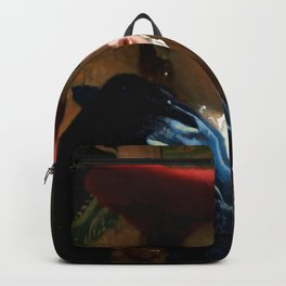 "Johannes Vermeer ""Girl with a Red Hat"" Backpack"