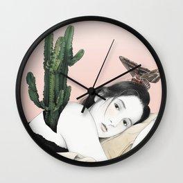 Self-Portrait II Wall Clock