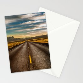 Road trip to Big Bend Stationery Cards