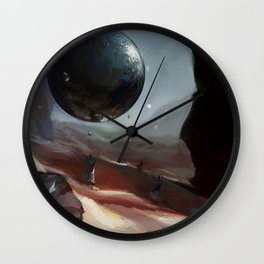 Holy Sphere! Wall Clock