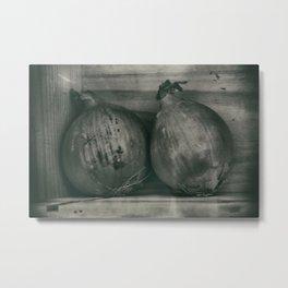 Old Onions Metal Print