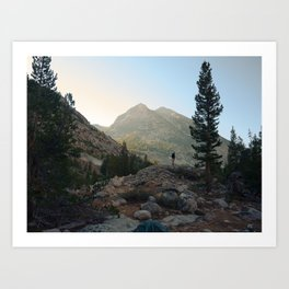 FROM THE TENT Art Print