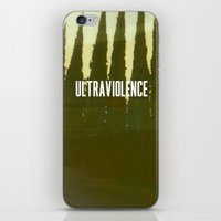 ultraviolence iPhone & iPod Skins featuring Ultraviolence by TrailerMagic