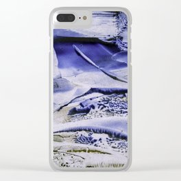 Melting Glacier Clear iPhone Case