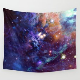 Bright nebula Wall Tapestry