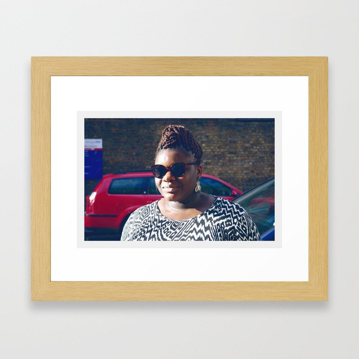 Blessing London Framed Art Print