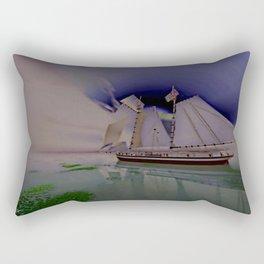 Under Pastel Skies Rectangular Pillow
