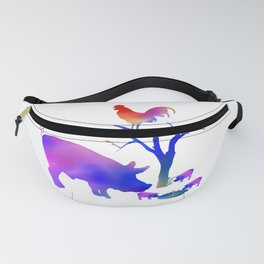 Pigs on the farm Fanny Pack