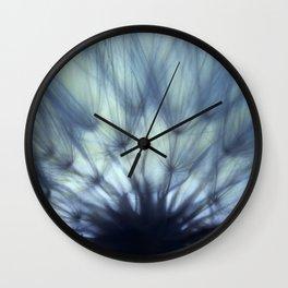 A Dandelion Fan Wall Clock