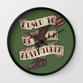 Adventurer Like You Wall Clock