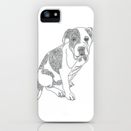Lesley 2 iPhone Case