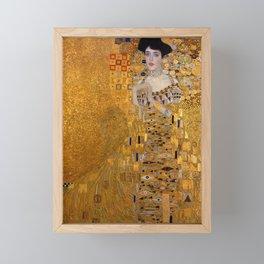 THE LADY IN GOLD - GUSTAV KLIMT Framed Mini Art Print