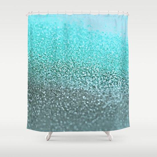 TEAL Shower Curtain By Monika Strigel Society6