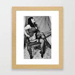 """Haley Paige"" Framed Art Print"