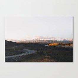Tekapo Sunset Canvas Print