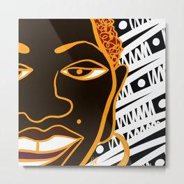 Africa Calls To Me Metal Print