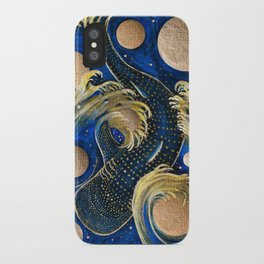 Celestial Whale Shark iPhone Case