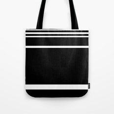 Black & White Stripes Tote Bag