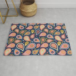 Limited color paisleys Rug