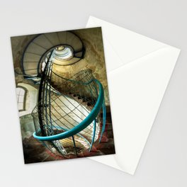 Inside the old lighthouse Stationery Cards