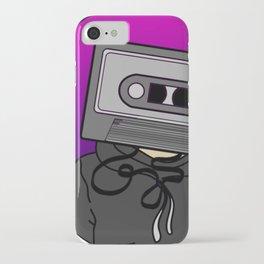 Icelapse Macintosh - Music Inspired Cassette Tape Digital Vector iPhone Case