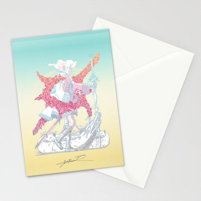 Fourth Grade Fantasy (proliferated) Stationery Cards
