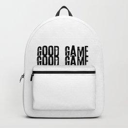 Good Game I Hate You Online Multiplayer Video Games Black Backpack