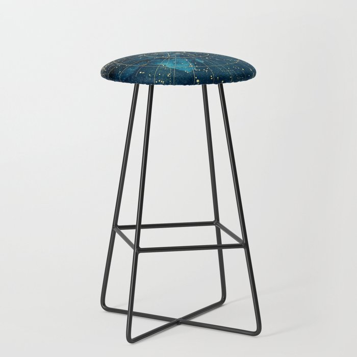 Star Map :: City Lights Bar Stool