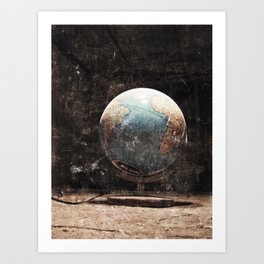 This is my world.... Art Print