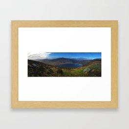 Sally Gap County Wicklow Ireland Framed Art Print